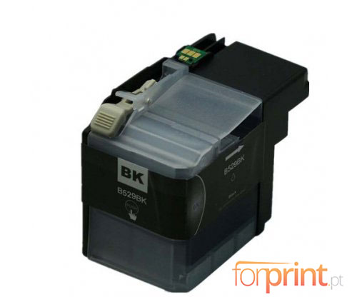 Tinteiro Compativel Brother LC-529 XL BK Preto ~ 2.600 Paginas