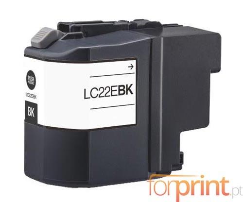 Tinteiro Compativel Brother LC-22E BK Preto