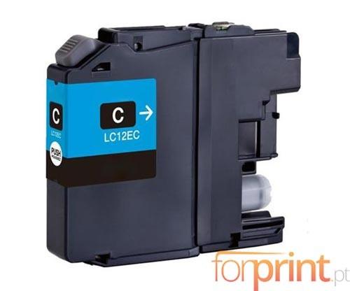 Tinteiro Compativel Brother LC-12E C Cyan