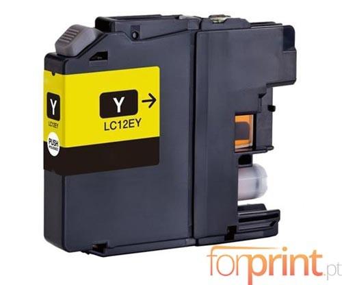 Tinteiro Compativel Brother LC-12E Y Amarelo