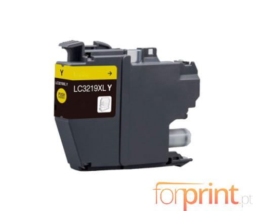 Tinteiro Compativel Brother LC3219XLY Amarelo 18ml