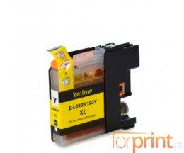 Tinteiro Compativel Brother LC-125 XL Y Amarelo 16.6ml