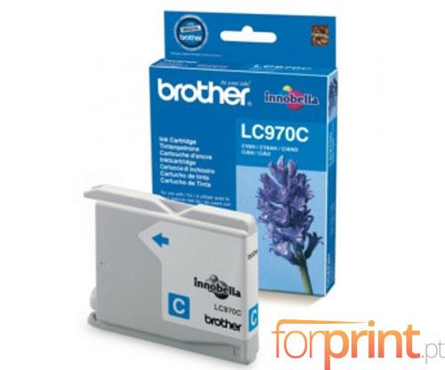 Tinteiro Original Brother LC970C Cyan 6.1ml ~ 300 Paginas
