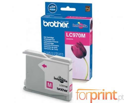 Tinteiro Original Brother LC970M Magenta 9.1ml ~ 300 Paginas