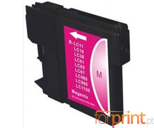 Tinteiro compatível Brother LC-980 XL M / LC-1100 XL M Magenta 18ml