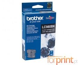 Tinteiro Original Brother LC980BK Preto 8.7ml ~ 300 Paginas