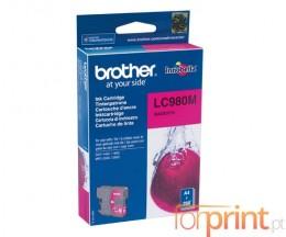 Tinteiro Original Brother LC980M Magenta 4.8ml ~ 260 Paginas