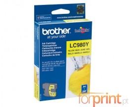 Tinteiro Original Brother LC980Y Amarelo 4.8ml ~ 260 Paginas