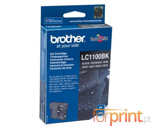 Tinteiro Original Brother LC1100BK Preto 9.5ml ~ 450 Paginas