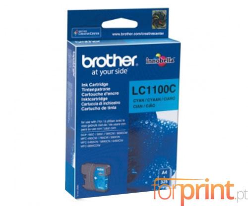 Tinteiro Original Brother LC1100C Cyan 5.5ml ~ 325 Paginas