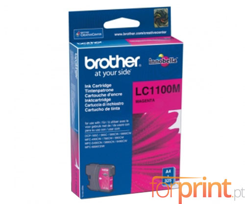 Tinteiro Original Brother LC1100M Magenta 5.5ml ~ 325 Paginas
