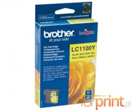 Tinteiro Original Brother LC1100Y Amarelo 5.5ml ~ 325 Paginas