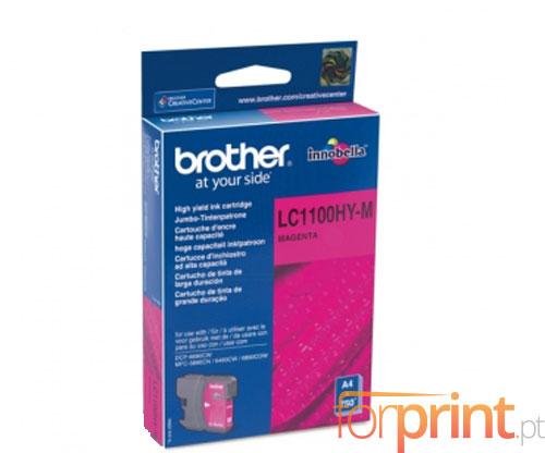 Tinteiro Original Brother LC1100HYM Magenta 10.1ml ~ 750 Paginas