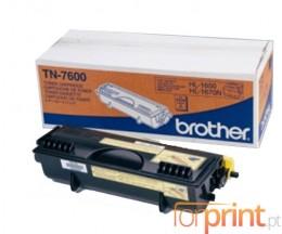 Toner Original Brother TN-7600 Preto ~ 6.500 Paginas