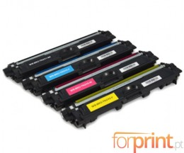4 Toners Compativeis, Brother TN-241 / TN-245 Preto + Cor ~ 2.500 / 2.200 Paginas