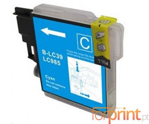 Tinteiro Compativel Brother LC-985 XL C Cyan 18ml