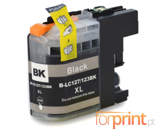 Tinteiro Compativel Brother LC-121 BK / LC-123 BK Preto 20.6ml