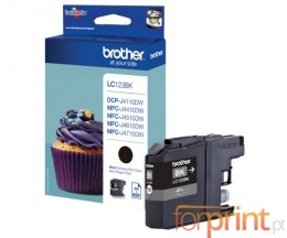 Tinteiro Original Brother LC123BK Preto 13.4ml ~ 600 Paginas