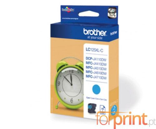 Tinteiro Original Brother LC125XLC Cyan 13.1ml ~ 1.200 Paginas