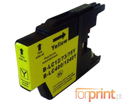 Tinteiro Compativel Brother LC-1220 Y / LC-1240 Y / LC-1280 Y Amarelo 16.6ml