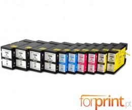 10 Tinteiros Compativeis Canon PGI-1500 Preto 36ml + Cor 11.5ml