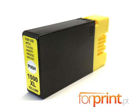 Tinteiro Compativel Canon PGI-1500 XLY Amarelo 11.5ml