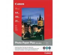 Papel Fotográfico Original Canon SG-201 ~ 20 Paginas 210x297mm