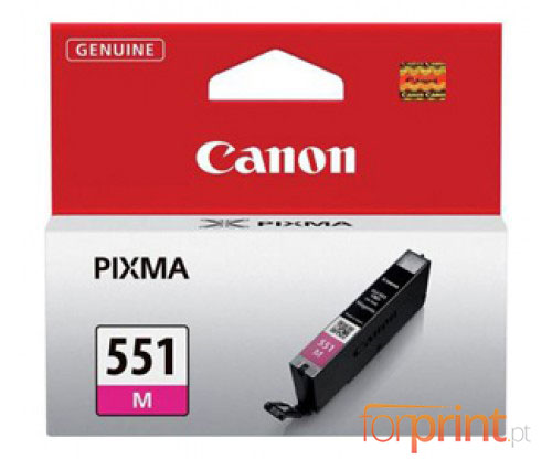 Tinteiro Original Canon CLI-551 Magenta 7ml