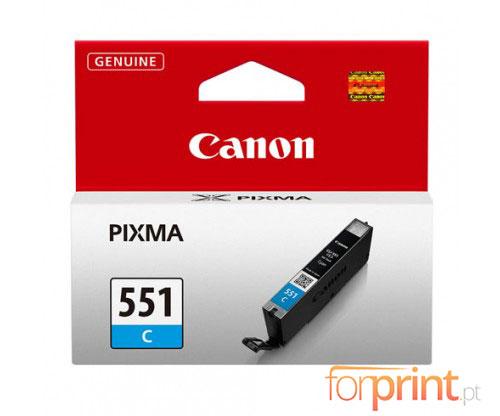 Tinteiro Original Canon CLI-551 Cyan 7ml
