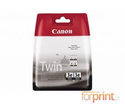 2 Tinteiros Originais, Canon BCI-3 EBK Preto 27ml ~ 500 Paginas