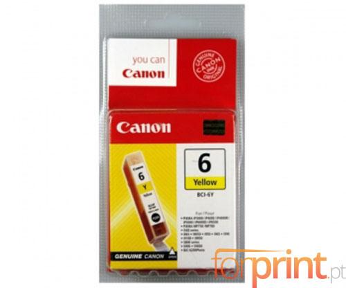 Tinteiro Original Canon BCI-6 Amarelo 13ml ~ 210 Paginas