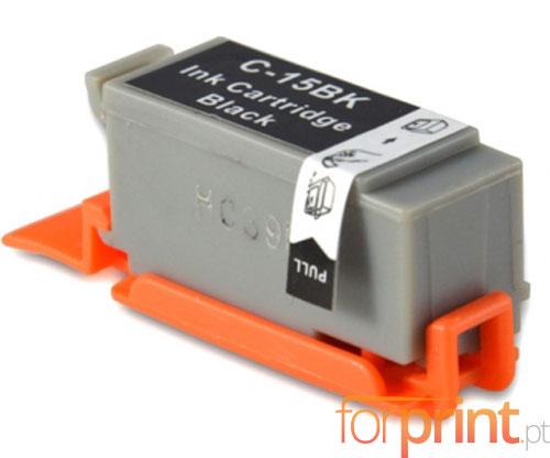 Tinteiro Compatível Canon BCI-15 Preto 5.2ml