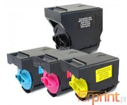 4 Toners Compativeis, Canon C-EXV 21 Preto + Cor ~ 28.000 / 14.000 Paginas