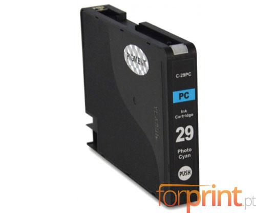 Tinteiro Compatível Canon PGI-29 Cyan Claro 36ml