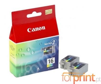 2 Tinteiros Originais, Canon BCI-16 Cor 2.5ml