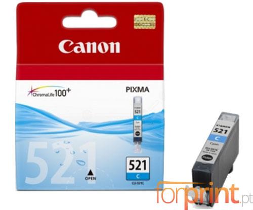 Tinteiro Original Canon CLI-521 Cyan 9ml ~ 448 Paginas