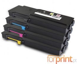 4 Toners Compativeis, DELL 5931111X Preto + Cor ~ 11.000 / 9.000 Paginas