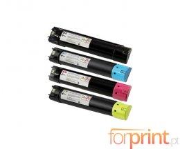 4 Toners Compativeis, DELL 593BBCB-593BBCX Preto + Cor ~ 18.000 / 12.000 Paginas