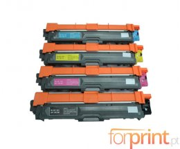 4 Toners Compativeis, Brother TN-421 / TN-423 Preto + Cor ~ 6.500 / 4.000 Paginas
