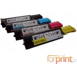 4 Toners Compativeis, DELL 5931015X Preto + Cor ~ 2.000 Paginas