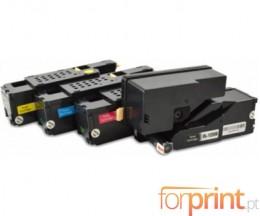 4 Toners Compativeis, DELL 5931114X Preto + Cor ~ 2.000 / 1.400 Paginas