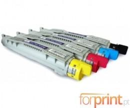 4 Toners Compativeis, DELL 5931012X Preto + Cor ~ 8.000 Paginas