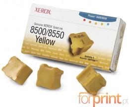 3 ColorSticks Originais, Xerox 108R00671 Amarelo ~ 3.000 Paginas