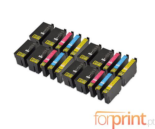 20 Tinteiros Compativeis, Epson T2701-T2704 / T2711-T2714 Preto 22.4ml + Cor 15ml
