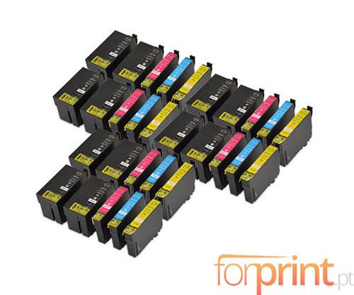 30 Tinteiros Compativeis, Epson T2701-T2704 / T2711-T2714 Preto 22.4ml + Cor 15ml