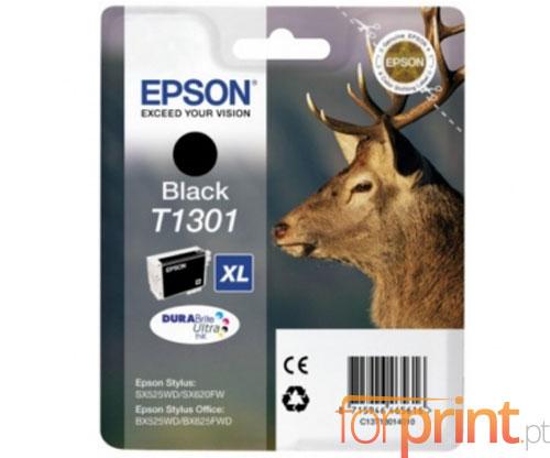 Tinteiro Original Epson T1301 Preto 25ml ~ 945 Paginas
