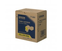 Toner Original Epson S050590 Amarelo ~ 6.000 Paginas