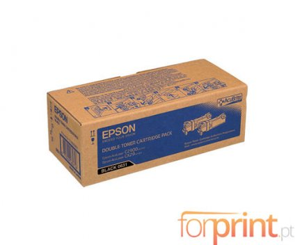 2 Toners Originais, Epson S050631 Preto ~ 3.000 Paginas