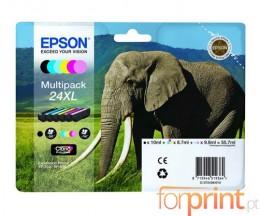 6 Tinteiros Originais, Epson T2431-T2436