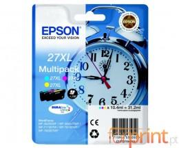3 Tinteiros Originais, Epson T2715 Cor 10.4ml